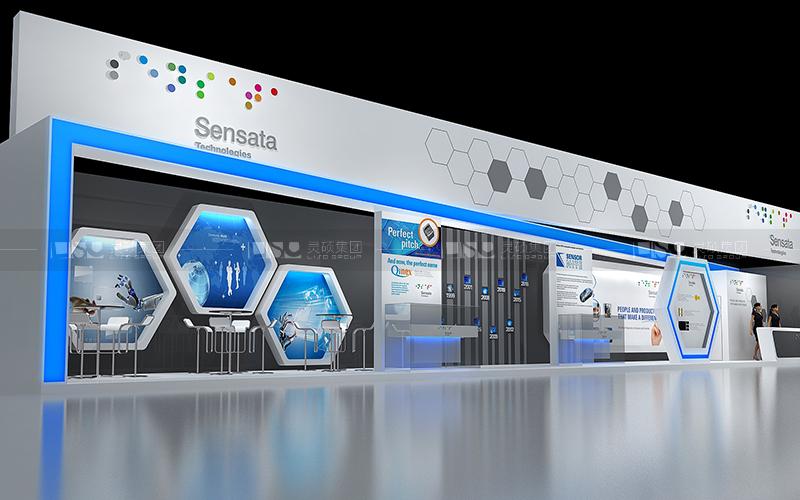 森萨塔-家电展台设计搭建案例