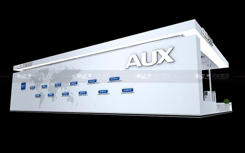 奥克斯-家电展台设计搭建案例