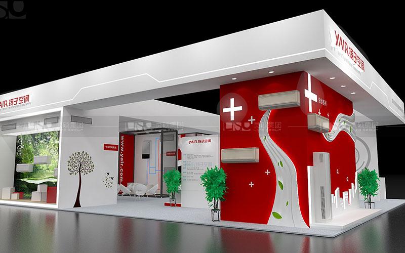 扬子集团-家电展台设计搭建案例