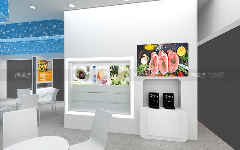 大洋香料-食品添加剂展台设计搭建案例