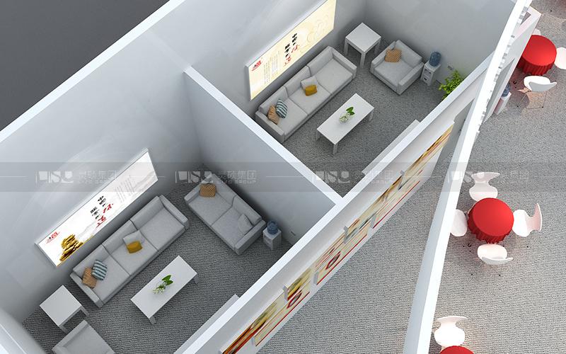 鸿宝-食品添加剂展台设计搭建案例