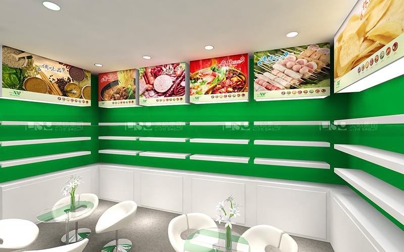 味海食品-食品添加剂展台设计搭建案例