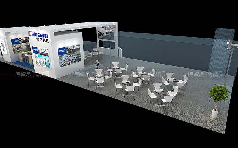 迦南-食品添加剂展台设计搭建案例