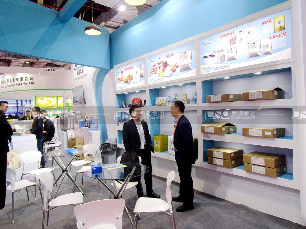 熊猫-食品添加剂展台设计搭建案例