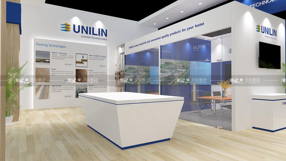 尤尼林-地材展台设计搭建案例