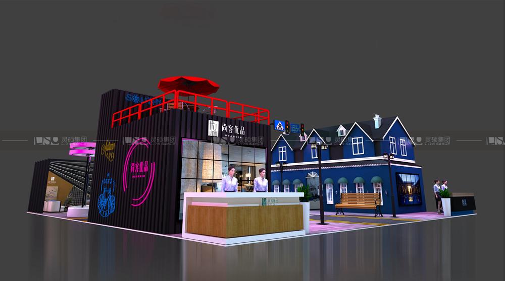 尚美-酒店展台设计搭建案例