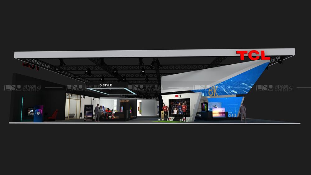 TCL-家电展台设计搭建案例