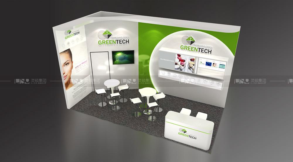 greentech-PCHi展台设计搭建案例