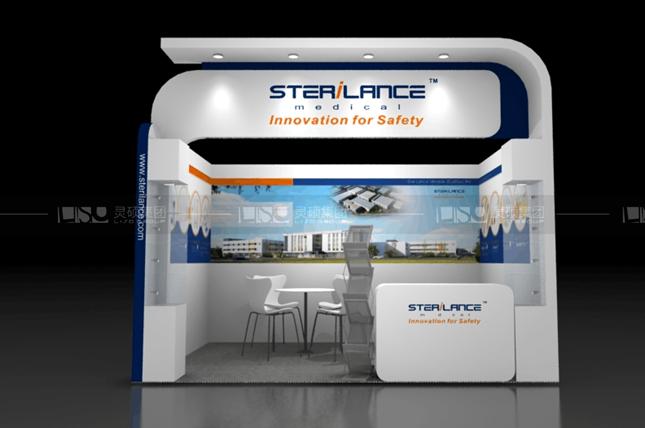 施莱-迪拜医疗展台设计搭建案例