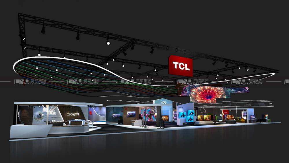 TCL-美国CES展台搭建案例