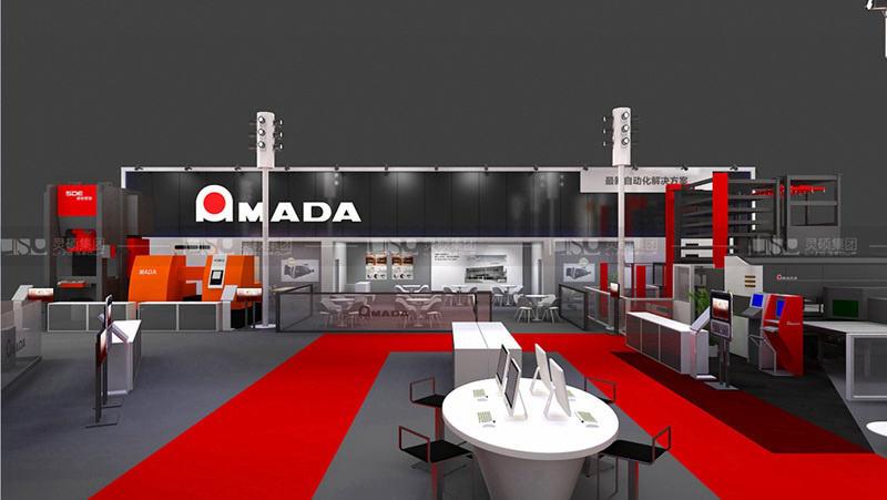 阿玛达-工博会展台设计搭建案例