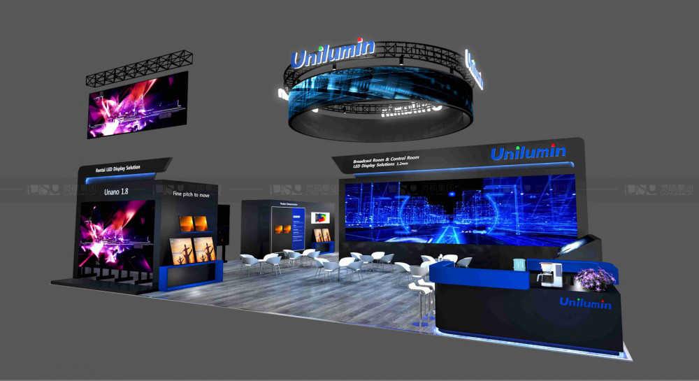洲明科技-美国视听展览设计案例