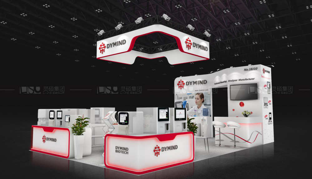 帝迈-迪拜医疗展台设计搭建案例