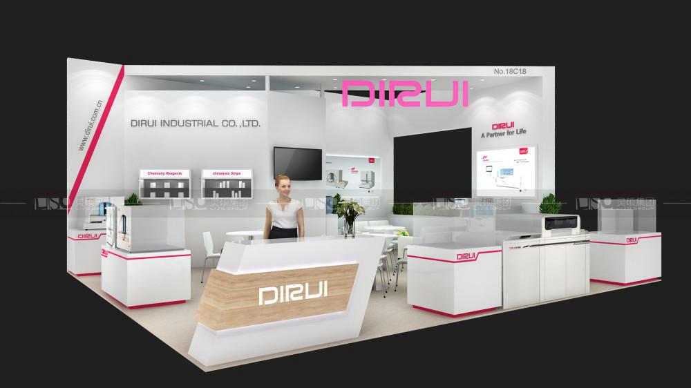 迪瑞-迪拜医疗展台设计搭建案例