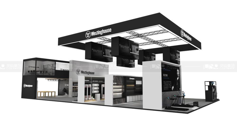 西屋-家电展台设计搭建案例