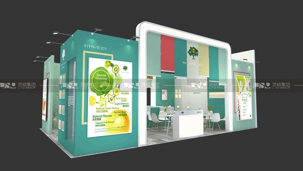 普若味可-食品添加剂展台设计搭建案例