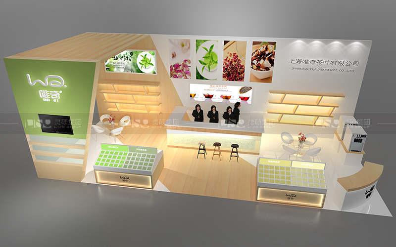 唯奇-焙烤展台设计搭建案例
