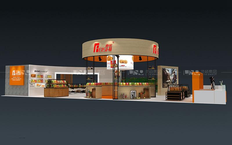 费氏-焙烤展台设计搭建案例