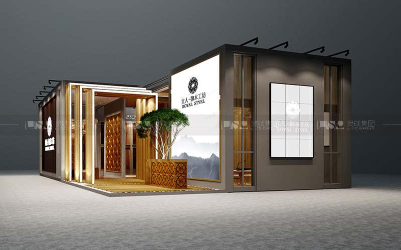 宜人-地材展台设计搭建案例