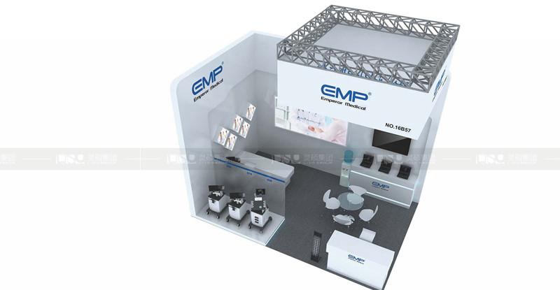 恩普-德国medica展台设计搭建