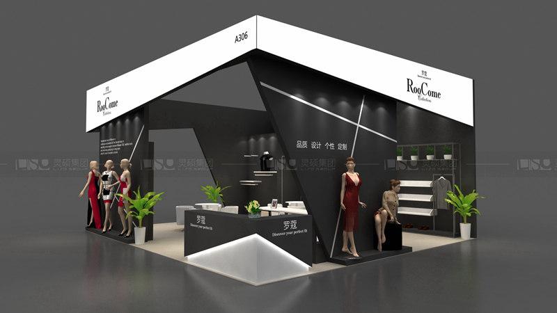 罗蔻-服装展览设计搭建案例