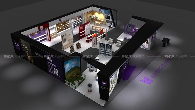 海际-宠物展展台设计案例