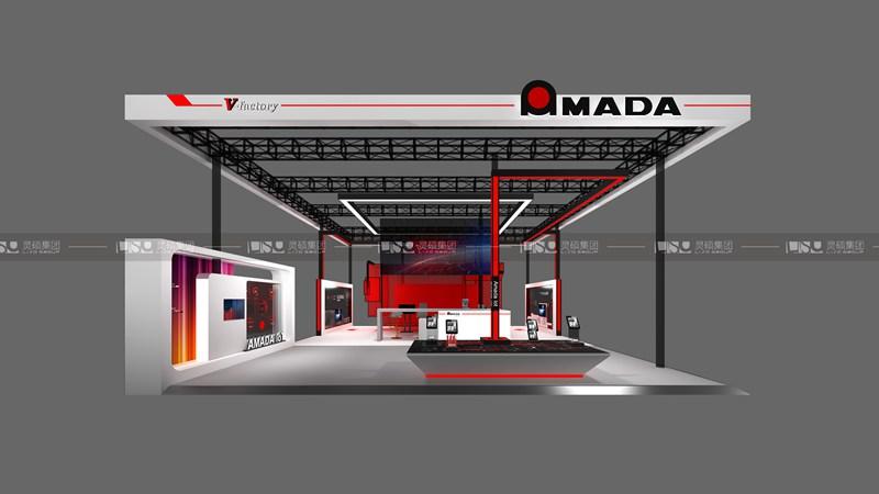 Amada-2019年第二届进博会展台案例