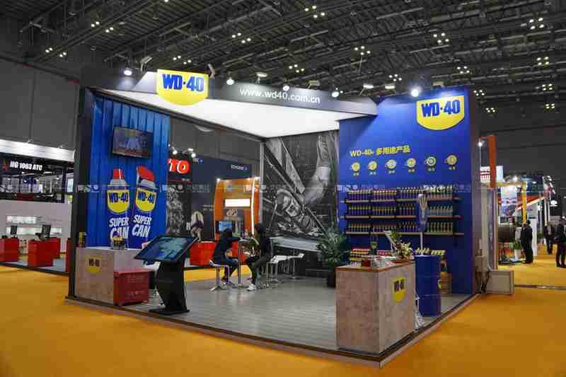 WD-40-2019年第二届进博会展台案例
