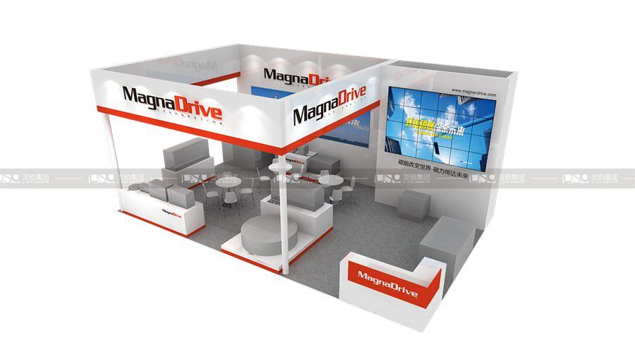迈格钠-2019年第二届进博会展台案例