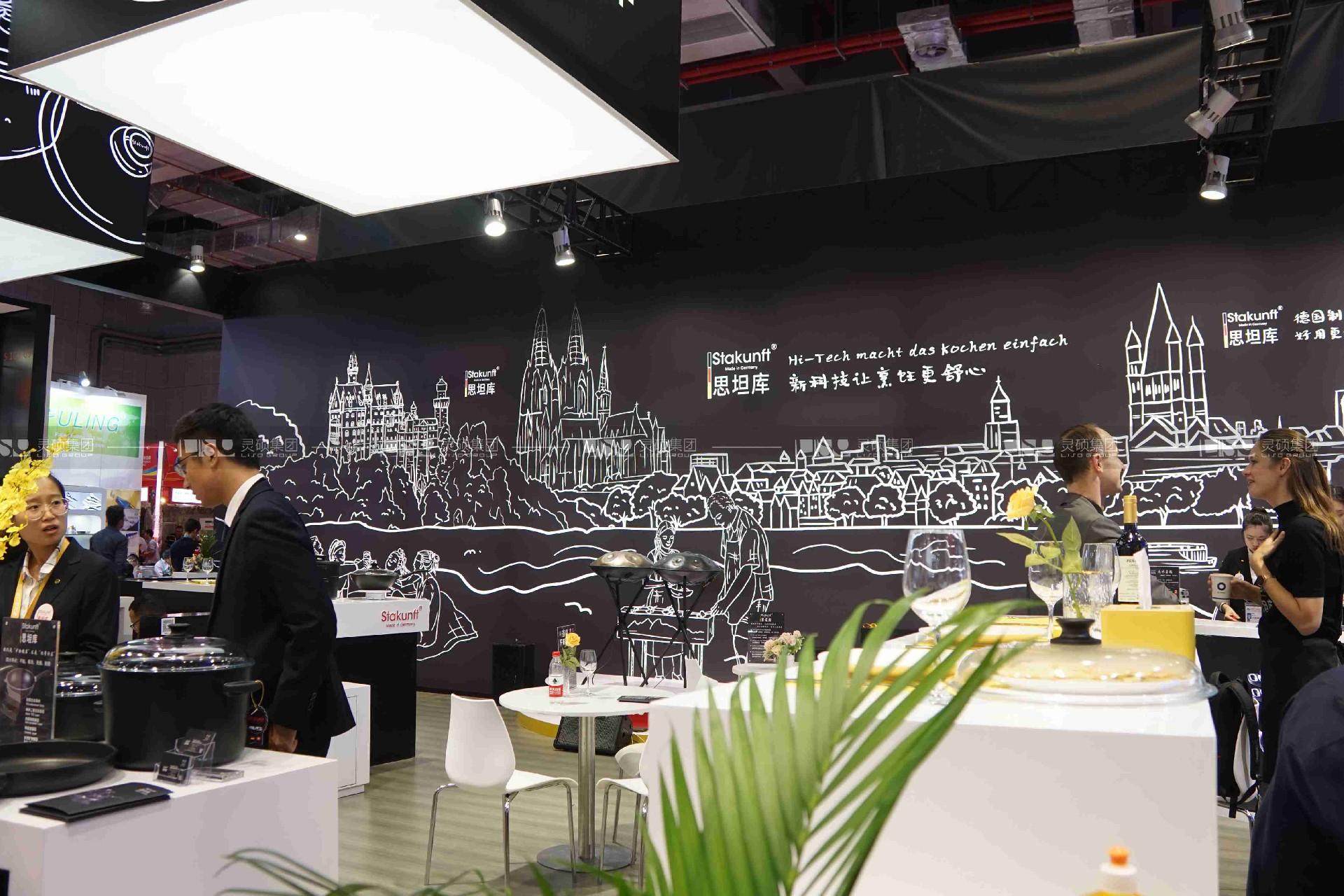 思坦库-2019年第二届进博会展台案例