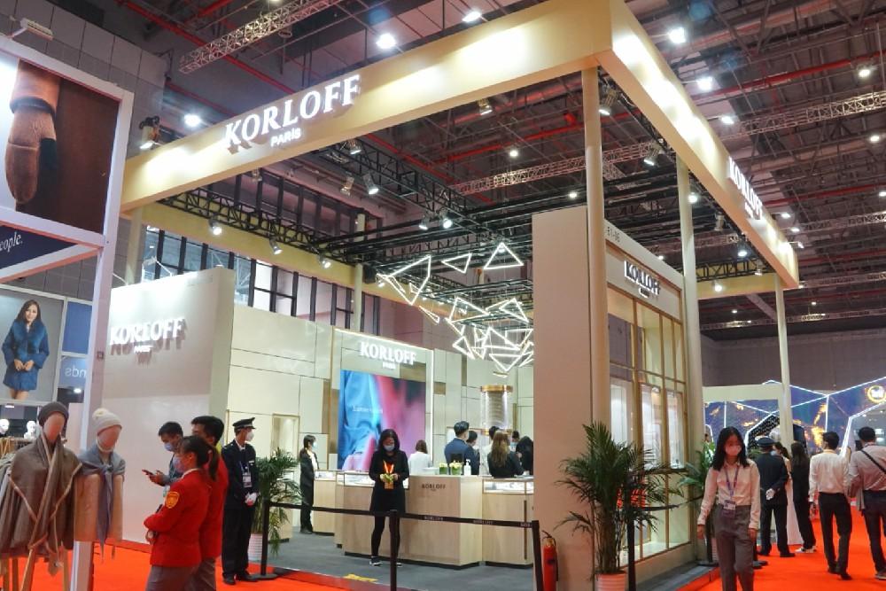香港威利-第三届进博会展台设计搭建案例