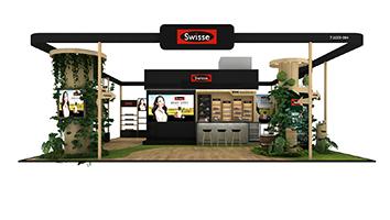 Swisse-第三届进博会展台设计案例