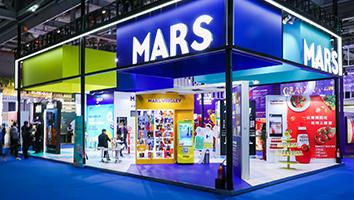 玛氏MARS-第三届进博会展台设计搭建案例