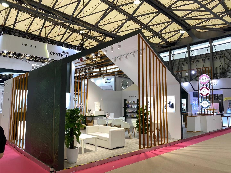 香蒲丽SHANGPREE—美博会展台设计搭建案例