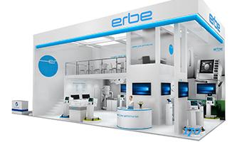 爱尔博—医疗展展台设计搭建案例